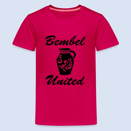 Bembel United Hessen - Teenager Premium T-Shirt