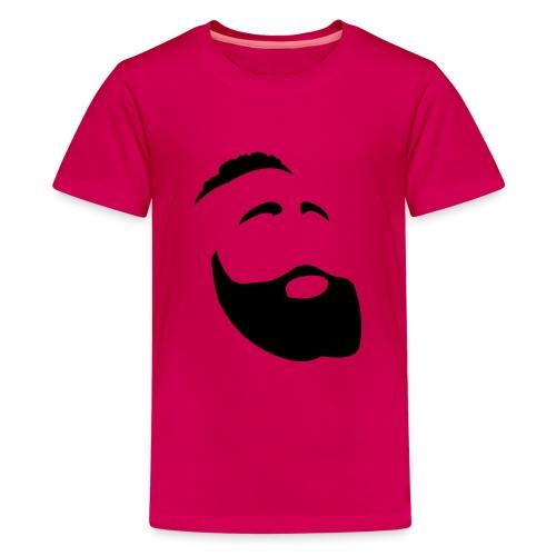 Il Barba, the Beard black - Maglietta Premium per ragazzi