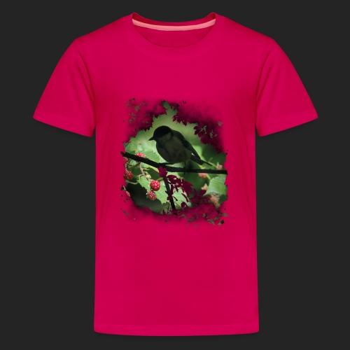 Petit oiseau dans la forêt - T-shirt Premium Ado