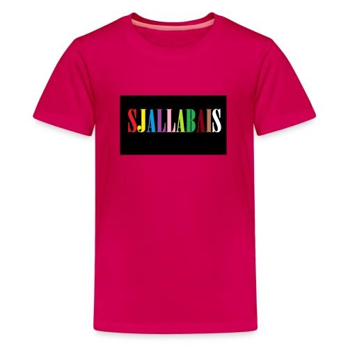 Sjallbais - Premium T-skjorte for tenåringer