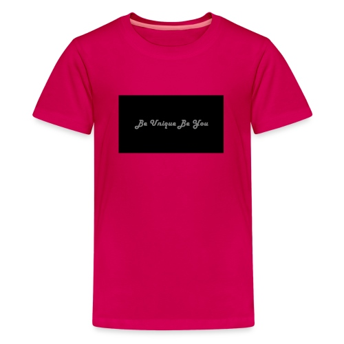 Be yourself - Teenage Premium T-Shirt