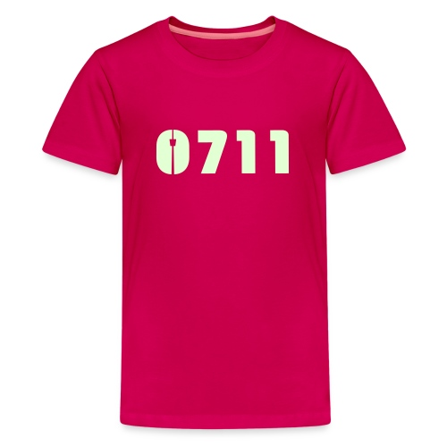 Baby-Mütze Stuttgart-0711 - Teenager Premium T-Shirt
