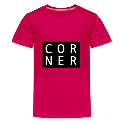 cornerbox - Teenager premium T-shirt