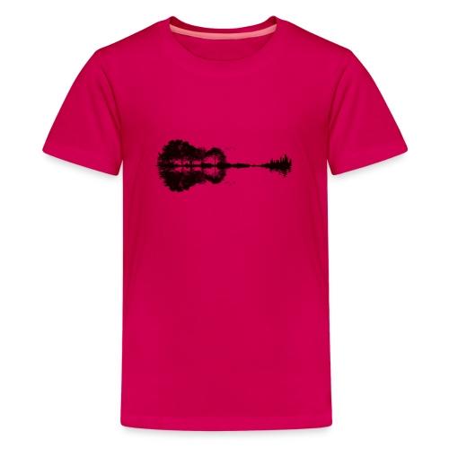 City of Guitar - Teenager Premium T-Shirt