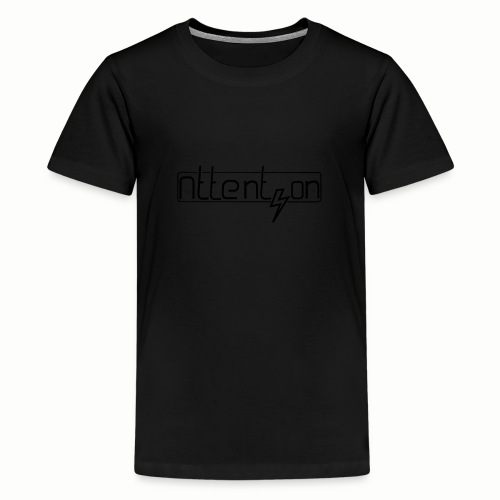 attention - Teenager Premium T-shirt