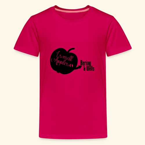 Smell Apples - Teenage Premium T-Shirt