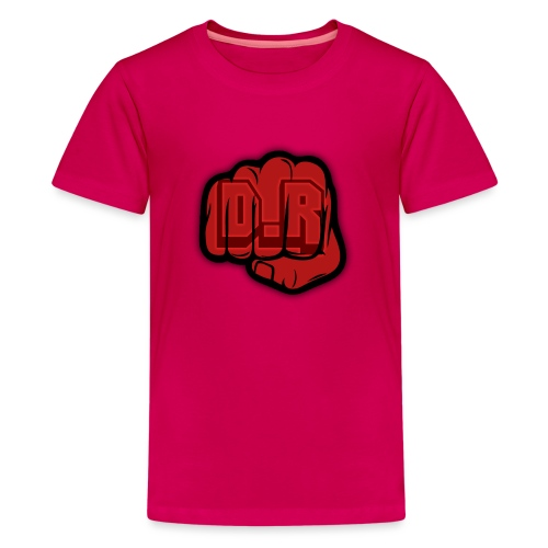 DigitalRelic Big Fist Logo - Premium-T-shirt tonåring