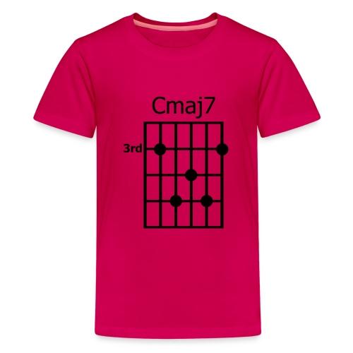 Chord diagram Cmaj7 - Teenager Premium T-Shirt