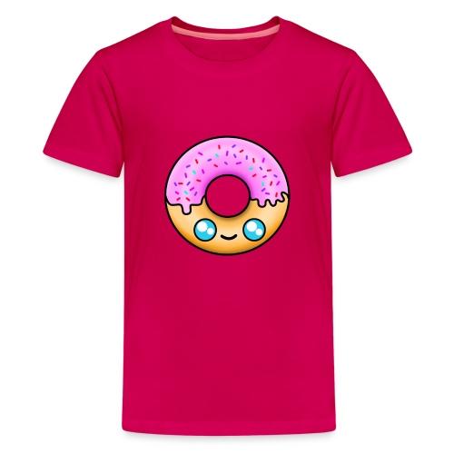 DONUT À LA FRAISE - T-shirt Premium Ado