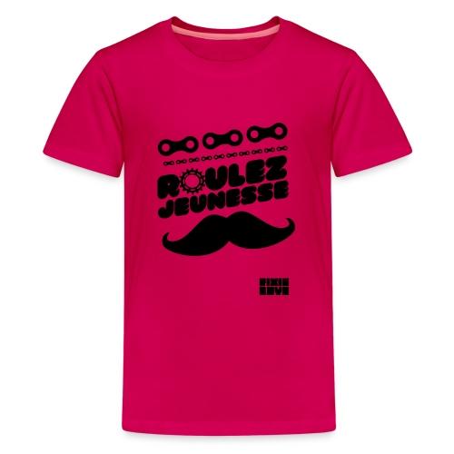 tee-shirt fixie - T-shirt Premium Ado