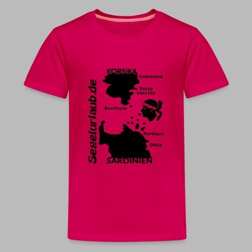 Korsika Sardinien Mori Shirt - Teenager Premium T-Shirt