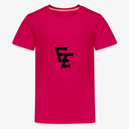 FE logo - Teenage Premium T-Shirt
