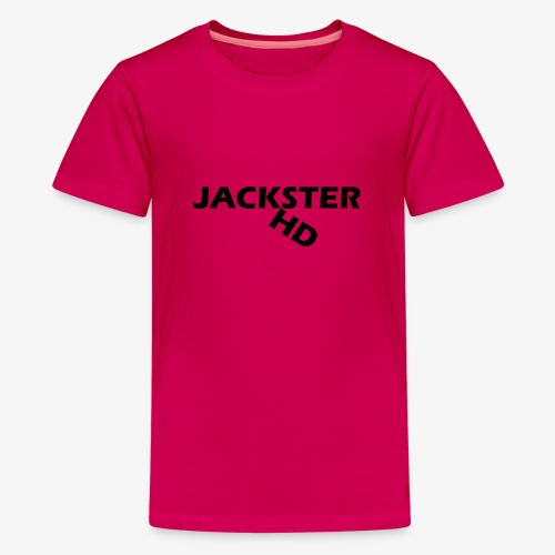 jacksterHD shirt design - Teenage Premium T-Shirt
