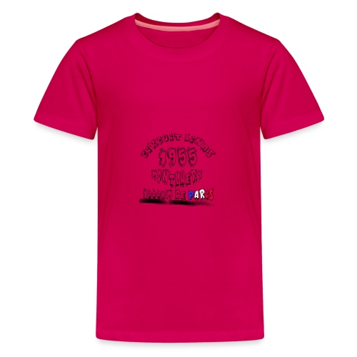 Les anciennes courses automobile - T-shirt Premium Ado