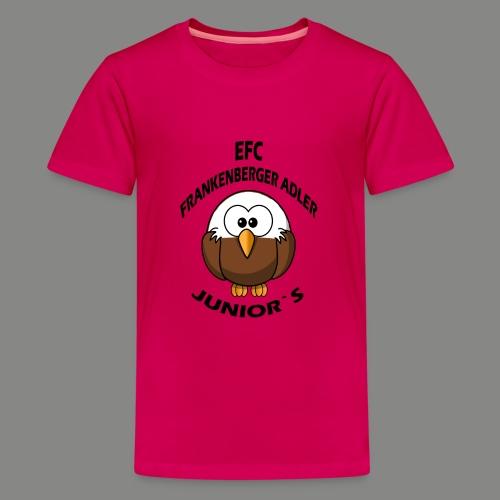 Junior Set in Schwarz - Teenager Premium T-Shirt