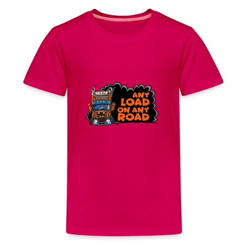 0323 any load on any road - Teenager Premium T-shirt