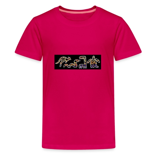 Les kangourous noirs 2 - T-shirt Premium Ado