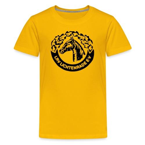 horse_logo_bag - Teenager Premium T-Shirt