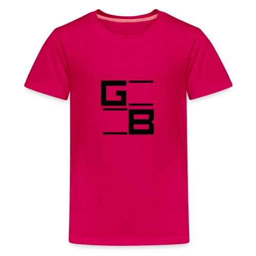 logo gwn besher - Teenager Premium T-shirt