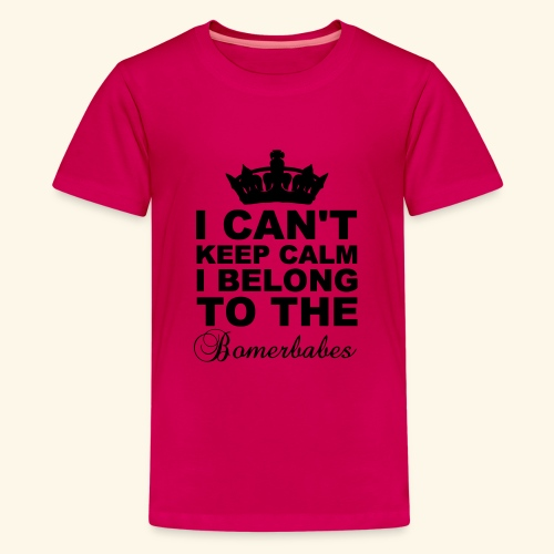 Can t keep calm - Teenage Premium T-Shirt