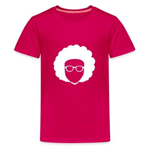 Afro Nerd - nerdy - Teenage Premium T-Shirt
