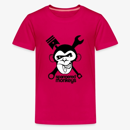 spanneredmonkeys-monkeyface - Teenage Premium T-Shirt