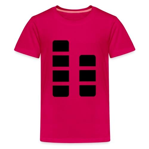 ctylight icon bild - Teenager Premium T-Shirt