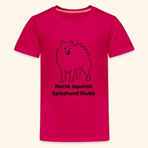 NJSK - Premium T-skjorte for tenåringer