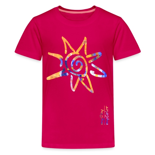 myDay SommerSonne - Teenager Premium T-Shirt