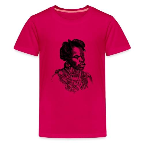 zulu man png - T-shirt Premium Ado