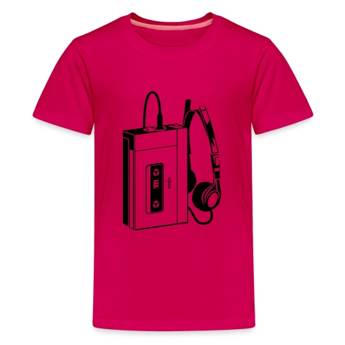 WALKMAN - T-shirt Premium Ado