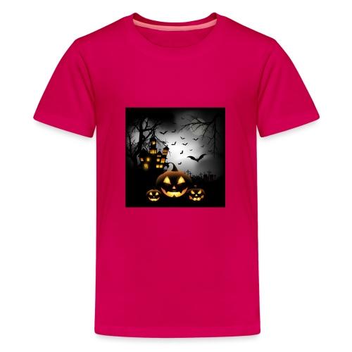 Halloween - Teinien premium t-paita