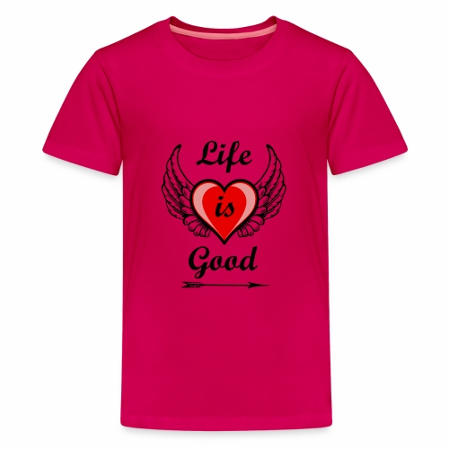 Lifeisgoods - Teenager Premium T-Shirt