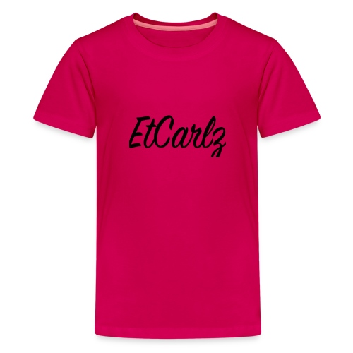 EtCarlz fancy - Teenage Premium T-Shirt