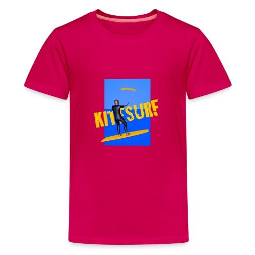 KITESURF HOMME - T-shirt Premium Ado