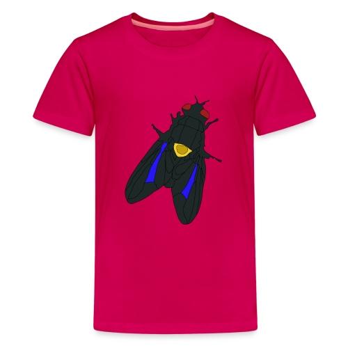 Fluga - Premium-T-shirt tonåring