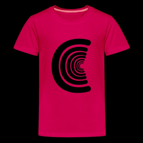 calm logo - Teenage Premium T-Shirt