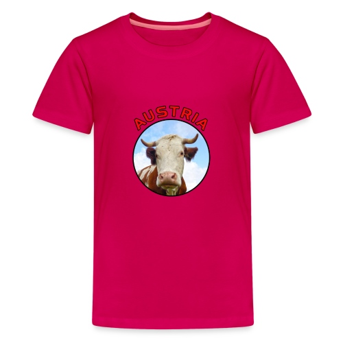 AustriaKuh png - Teenager Premium T-Shirt