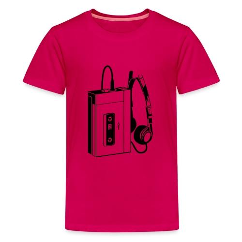 WALKMAN - T-shirt Premium Ado