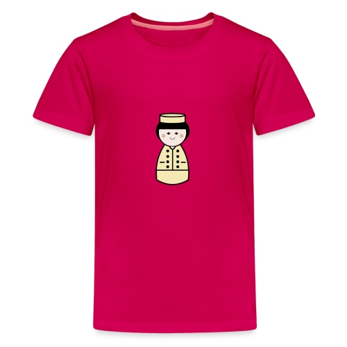 French Doll - Teenage Premium T-Shirt