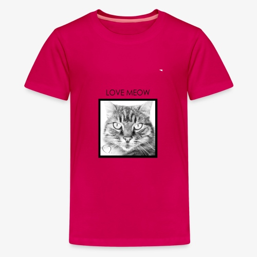 LOVEMEOW - Teenage Premium T-Shirt