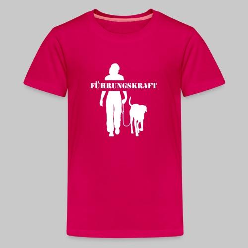 Führungskraft female - Teenager Premium T-Shirt