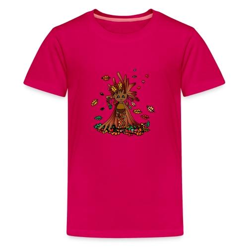 Coma- Die Hüterin der Wälder - Teenager Premium T-Shirt