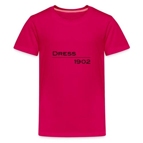 Dress1902 lineare - Maglietta Premium per ragazzi