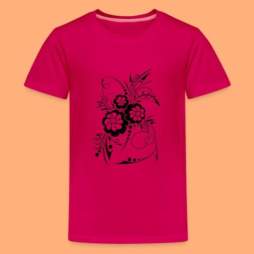 exposion florale - T-shirt Premium Ado