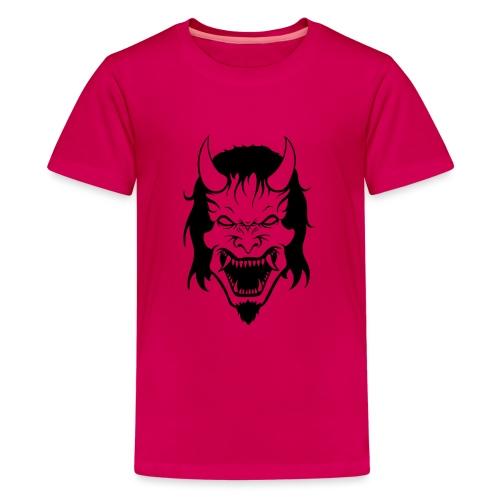 Hannya Demon - Teenager Premium T-Shirt