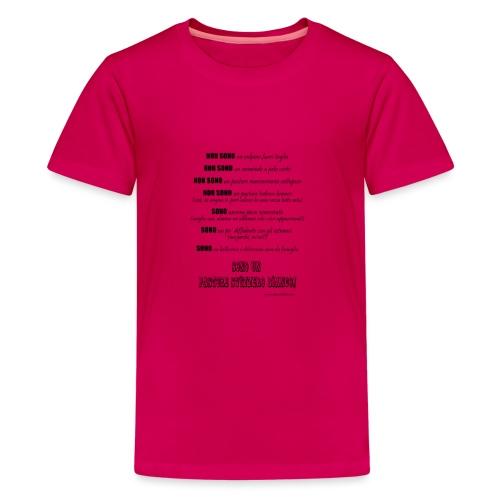 Vero standard svizzero - Maglietta Premium per ragazzi