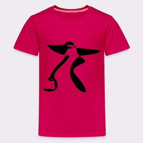 Body Powerful Women Style and Fashion - Teenager Premium T-Shirt