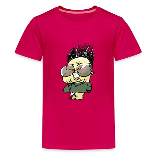 Nuclear Kim Jung Il - Teenage Premium T-Shirt