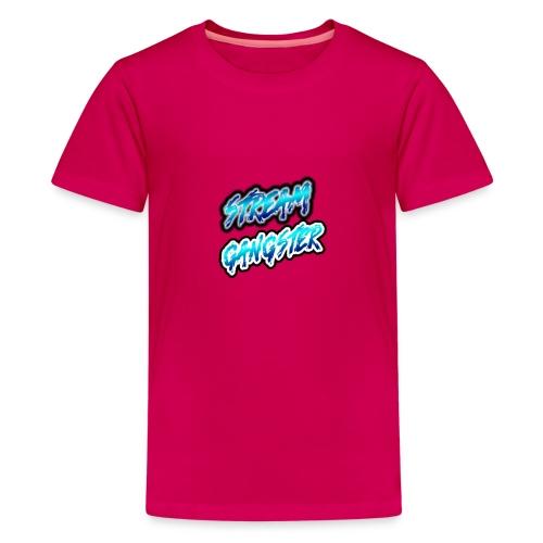 StreamGangsterMerchandise - Teenager Premium T-shirt